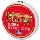 Поводковый материал DAIWA METASENSOR M-STAGE (0,037мм) - 12м