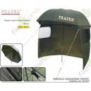 Зонт рыболовный 250см с задней стенкой ТРАПЕР (58015)