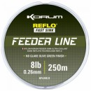 KORUM FEEDER LINE Леска рыболовная 0,26мм  250 м. (KFLINE/8)