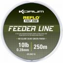 KORUM FEEDER LINE Леска рыболовная 0,28мм. 250 м. (KFLINE/10)