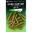 KORUM LEAD CLIP KIT Набор безопасных клипс для карпового монтажа (KCRA/02)