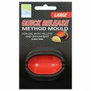"QUICK RELEASE METHOD MOULD LARGE Уплотнитель для прикормки ""NEW METHOD"" (QRMM/L2)"