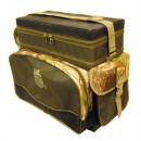 Ящик-рюкзак рыболовный зимний пенопластовый 2-х ярус. (H-2LUX)