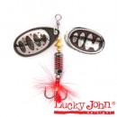 Блесна вращающаяся Lucky John BONNIE BLADE 00 02.7г 004 в блистере (LJBB00-004)