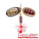 Блесна вращающаяся Lucky John BONNIE BLADE 00 02.7г 005 в блистере (LJBB00-005)