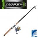 Спиннинг-комплект Salmo Sniper TRAVEL SPIN SET 2.10 (2419-210SET)