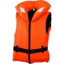 Жилет спасательный с воротником на молнии Norfin 100N 40-60кг/оранж. (100N-40-60)