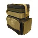 Ящик-сумка-рюкзак рыболовный зимний пенопластовый 3-х ярусный (B-3LUX)
