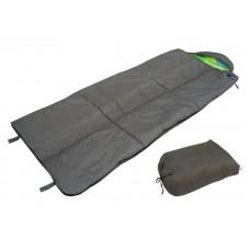 Спальный мешок БАТЫР XXL СОШ-3 (220*90) зеленый Helios (0615) (холлофайбер)