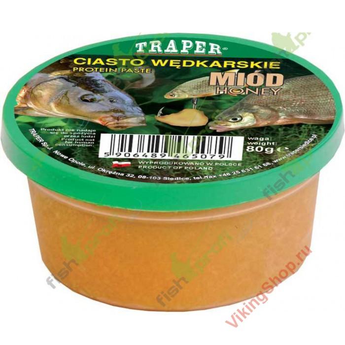 тесто для рыбалки с медом