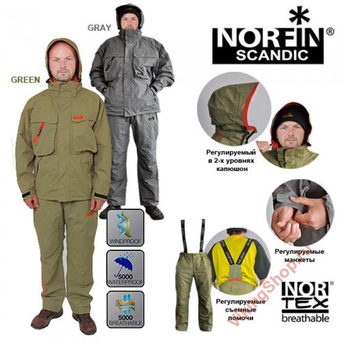 демисезонный костюм рыбака