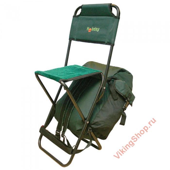 Рюкзак со стулом для рыбалки holiday 2039 купить в спб пакет надувной для рюкзаков